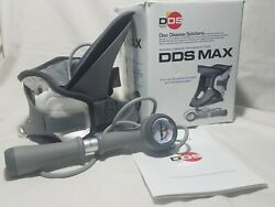 DDS MAX Cervical Traction Collar Disc Disease Solutions Lk-Nw Barely Used    g1 $99.98