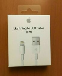 New Original Apple iPhone Lightning Cable 1m 3ft USB Charging Cord Authentic OEM $6.99