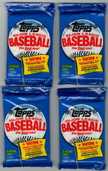 1983 Topps Michigan Test Baseball Cellophane Wax Pack # 2 Many Rookies Possible $20.00