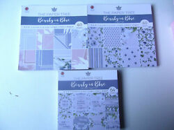 THE PAPER TREE 3 paper pad BEAUTY IN BLUE TOTAL 144 SHEETS PLEASE READ $15.00
