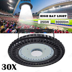 30x250W UFO LED High Bay Light Warehouse Industrial Shop Factory Commercial Lamp $2,655.99