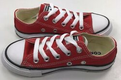 Authentic Converse All Star YOUTH RED Low Reg Price $40 New In Box $24.25