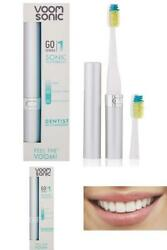 Rechargeable Battery-Operated Electric Toothbrush Nylon 2 min Timer Dentist Rec $21.79