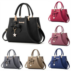 Women Handbag Shoulder Tote Bag Leather Crossbody Ladies Messenger Satchel Purse $19.68