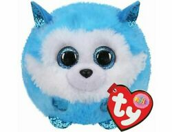 2020 TY Puffies PRINCE Husky Dog 4 Inch New Stuffed Toy MWMTs with Mint Tags $8.45