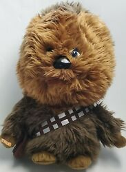 Cool Star Wars 15quot; Tall Talking Chewbacca Soft Furry Plush Squeeze His Hand $22.99