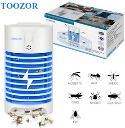 Electric Bug Zapper Mosquito Killer With UV Light Indoor Plug-in Bug Zapper Inse $18.03