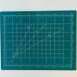 Cutting Mat Board Craft Hobby Art Supplies Double Sided 9quot; x 7 1 2quot; $9.99