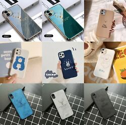 For iPhone 11 Pro Max Luxury Shockproof Slim Case Cute Girls boys Phone Cover $8.59