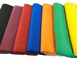 44 45quot; Broadcloth Fabric By The Yard Poly Cotton Blend $4.99