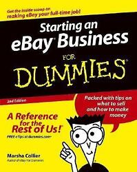Starting an eBay Business for Dummies by Marsha Collier $4.09