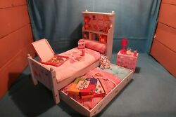 American Girl Doll; Bouquet Bed Set Bouquet Bedding with Nightstand; Used $305.95
