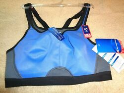 Champion Sports Bra C Cup All Out Max Support racer back plus Style1660 $9.00