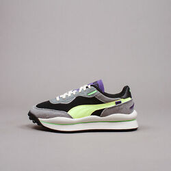 Puma Style Rider Neo Archive Black Ultra Grey Men New Running Shoes 373381 01 $100.00