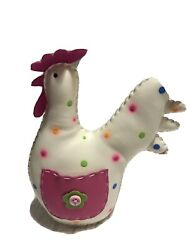 Faux Leather 5quot; Rooster Kitchen Decor $7.99