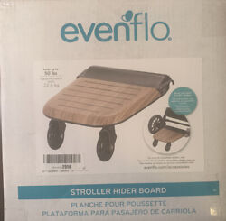 Evenflo Stroller Rider Board Convenient Riding Options Non Skid Surface 50lbs $42.99