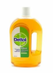 Dettol Liquid First Aid Antiseptic 25 oz 750 ml.Made in the U.K. $25.00