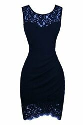 Swiland Cocktail Dresses for Women Party Lace Prom Dress Homecoming Formal Large $5.40