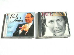 2 Great PAUL ANKA CDs: TOUCH OF CLASS BEST OF THE UNITED ARTISTS YEARS '73-'77 $6.98