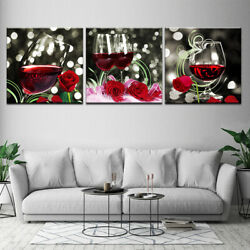 3pcs Unframed Modern Art Oil Painting Print Canvas Picture Home Wall Room Decor $19.49
