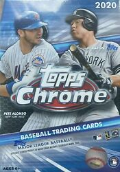 2020 Topps CHROME Baseball Blaster Box 4 SEPIA REFRACTOR Try for Luis Roberts RC $36.99