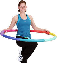 Hula Hoop Fitness Exercise Abs Workout 41.5 Wide High-Quality & Durable Plastic $86.84