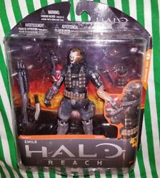 Halo Reach series 1 Emile action figure McFarlane toys NEW rare soldier XBOX 360 $72.50