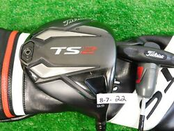 Titleist TS2 9.5* Driver HZRDUS Smoke 6.0 Stiff Graphite with Headcover  $227.99