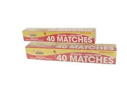 Long Matches 80 Count Box Fireplace Grill BBQ Candle Camping $9.99