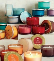 YOU CHOOSE Pier 1 Imports 3 Wick Scented Candle Decorative Jar A13 29 hours $29.99
