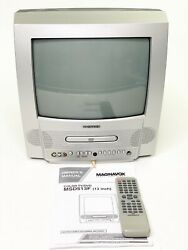 Magnavox MSD513F Gaming 13quot; Television TV DVD Combo Player W Remote amp; Manual $79.77
