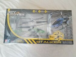 HELICOPTER Remote Control Sky Rover Stalker Indoor Outdoor IR Gyro Hover $13.99
