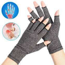Compressions Gloves For Women amp; Men Hands and Joints Pain Relief Grey S M L XL $11.47
