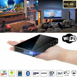 Mini Pocket 3000 lumens DLP Android Wifi HD 1080P Video Home Theater Projectors $183.11