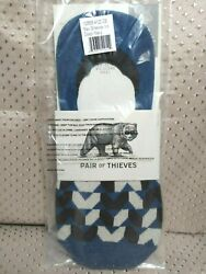 Pair Of Thieves No Show Max Greevey Deep Navy Men#x27;s Size 8 12 Socks $8.99