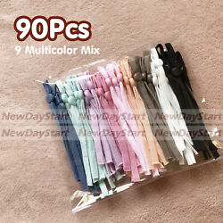 90pieces Adjustment Buckle Elastic Band Cord Adjustable For Sewing Face Cover $9.11