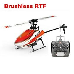XK K110 6CH Brushless 3D 6G RC Helicopter for Kids Children Toys Gift RC Drones $147.92