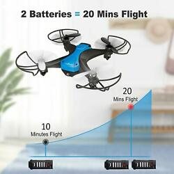 Tech RC Drone Mini Quadcopter 2.4G Aircraft 3D Flips for Beginner 20 Mins Flying $36.99