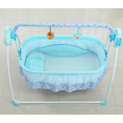 Baby Swing Infant Cradle Electric Rocker Bouncer Chair ToysMusicMosquito net $92.63