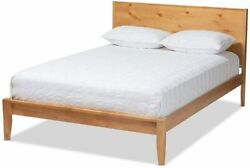 Add a fresh breezy vibe to bedroom with the Marana king size platform bed New $625.81