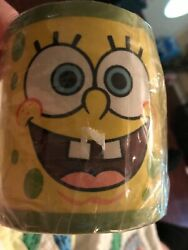 NEW Small Round Lamp Shade CLIP ON 5quot; x 4quot; x 3quot; SPONGE BOB SQUARE PANTS LAST ONE $4.79