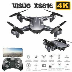 VISUO XS816 RC Drone Camera 1080P Foldable Auto Return Quadcopter Toy Gift B5N7 $61.64