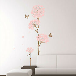 Removable 3D Flower Home Room Art Decor DIY Wall Sticker Decal Exotic $9.89