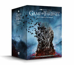 GAME OF THRONES THE COMPLETE SERIES SEASONS 1 8 DVD 38 DISC BOX SET NEW $49.91