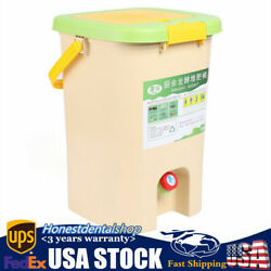 NEW 21L Large Capacity Recycle Composter Compost Bin Bokashi Bucket Kitchen Food $62.00