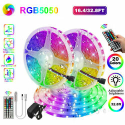 32.8Ft 10m Waterproof Ip65 5050 SMD RGB LED Strip Light 12V Power Room Party $9.99