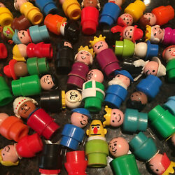 Vintage Fisher Price Little People Assortment $5.99