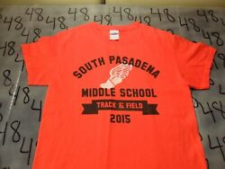 Small South Pasadena CA Middle School Track amp; Field T Shirt $7.99