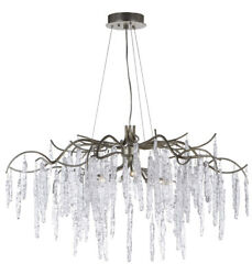Maxim Lighting 26284ICSG Willow Chandelier Silver Gold $1998.00