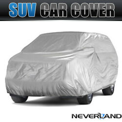 Full Car Cover Breathable Dust Sun Protector Outdoor For Jeep Wrangler Unlimited